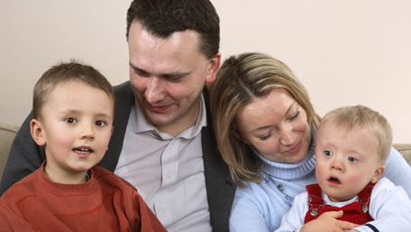 a family with one boy that has down syndrome