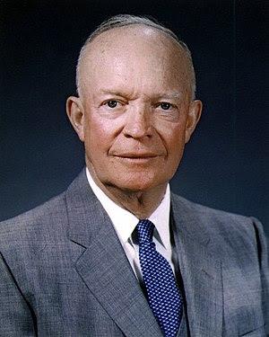 Dwight D. Eisenhower photo portrait.