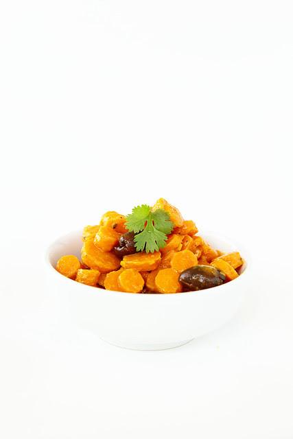 Carrots in orange juice