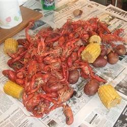 Louisiana Crawfish Boil Recipe