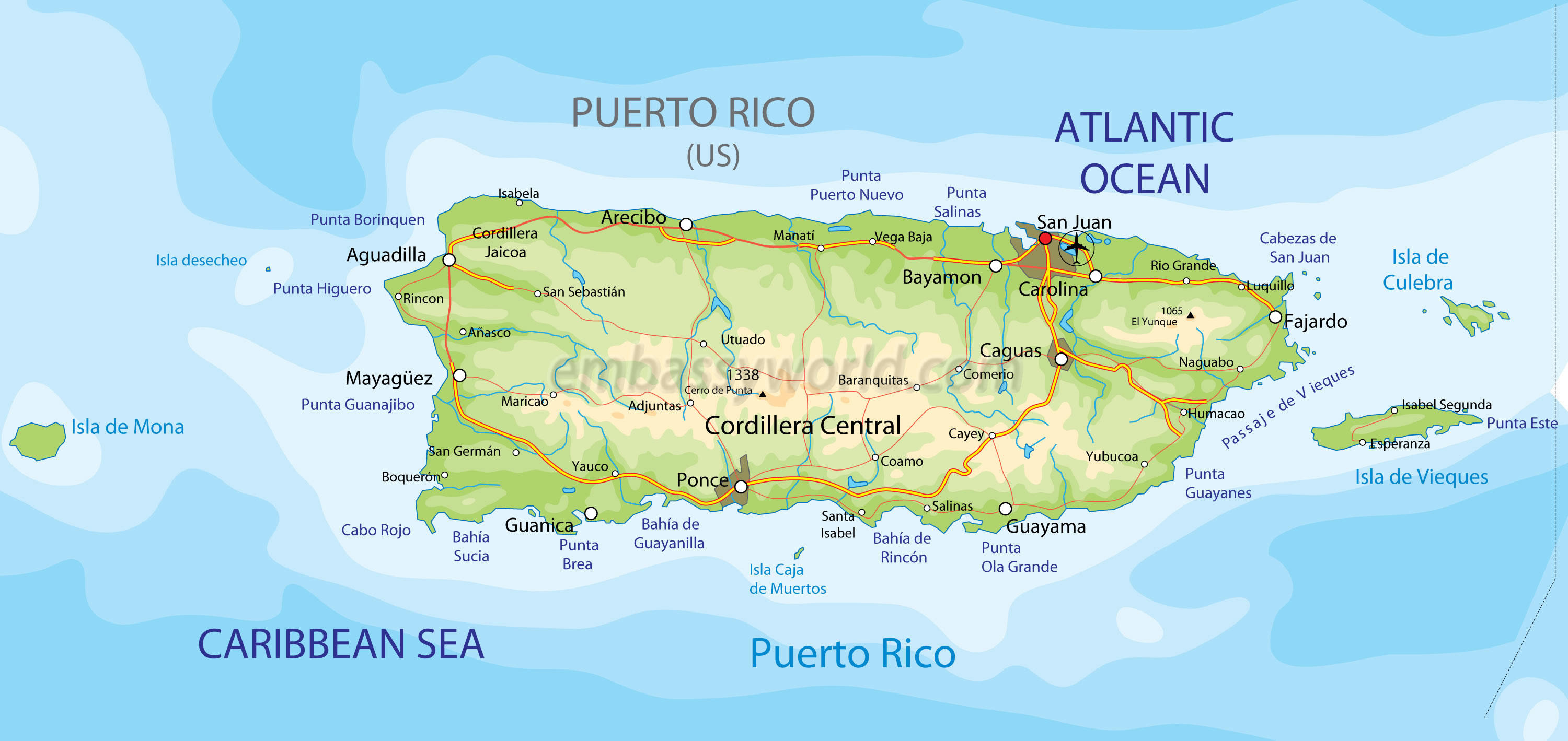 map of puerto rico_3