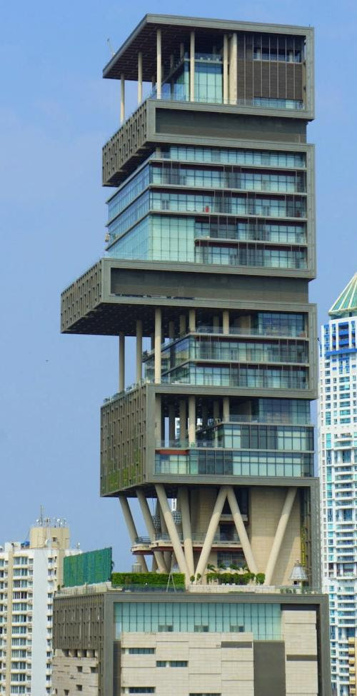 most extravagant house antilia