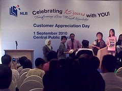 Customer Appreciation Day + NLB 15-Year Anniversary