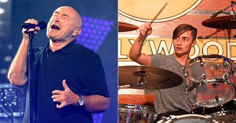 Phil Collins' Teenage Son Nic Talks Drumming for Dad