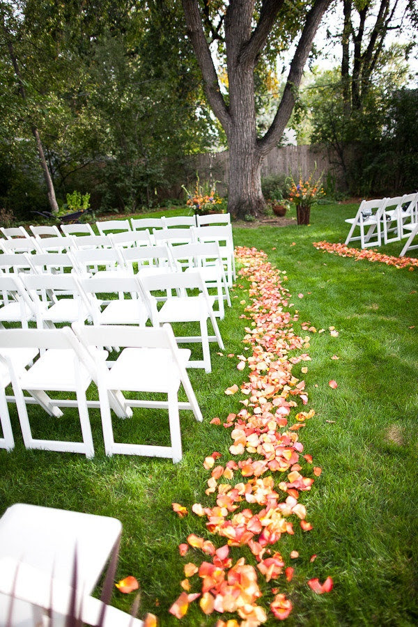 Simple Back Yard Wedding Ideas