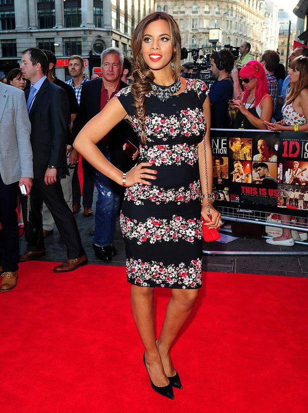 Why Hot Rochelle Humes is trending today?