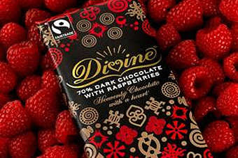 Co-op will stock 70% Dark Chocolate with Ginger & Orange, and 70% Dark Chocolate with Raspberries
