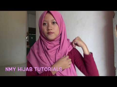 VIDEO : tutorial hijab pashmina sehari hari tanpa ninja:ciput sederhana banget #nmy hijab tutorials - tutorial hijab pashminasehari haritutorial hijab pashminasehari haritanpaninja:tutorial hijab pashminasehari haritutorial hijab pashmina ...