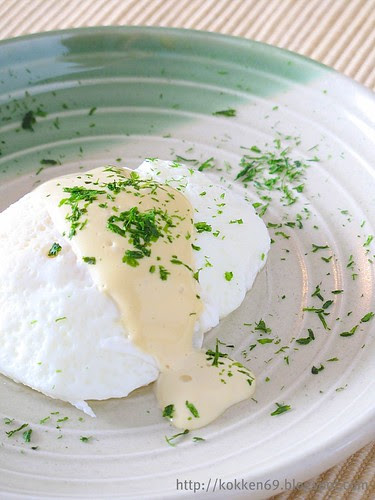 Poached Egg with Worchester Mayo
