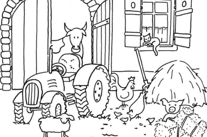 malvorlagen traktor pdf  amorphi