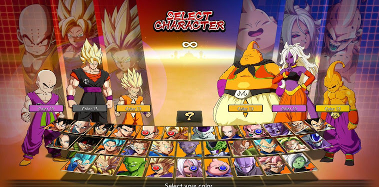 Dragon Ball Fighterz Character Roster