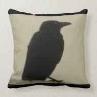 Black Crow throwpillow