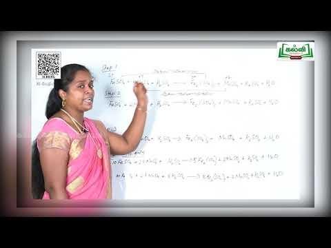 11th Chemistry வேதியியல் அடிப்படைக்கருத்துகள் மற்றும் வேதிக்கணக்கீடுகள் பகுதி 3 Kalvi TV