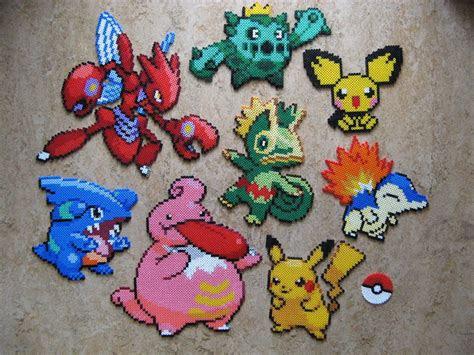 pokemon perler beads  pinterest bead patterns pokemon