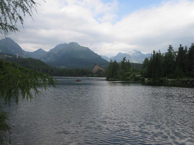 Strbske Pleso lake in the High Tatras in Slovakia. Credit: Ed Holt/IPS
