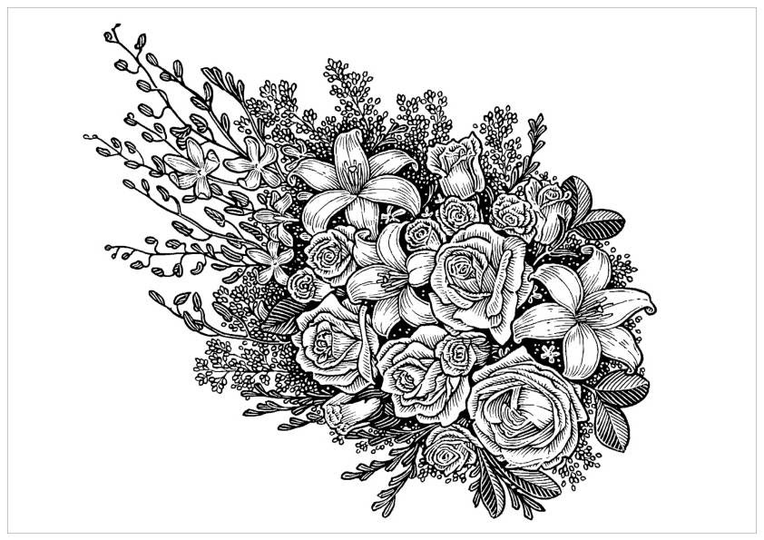 82 Top Free Coloring Pages For Adults Roses , Free HD Download