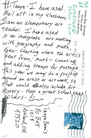 Gene Ray George, USA, Posted 08/07