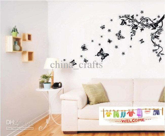Cheap Wall Decor - Best Removable Butterfly Wall Stickers Living
