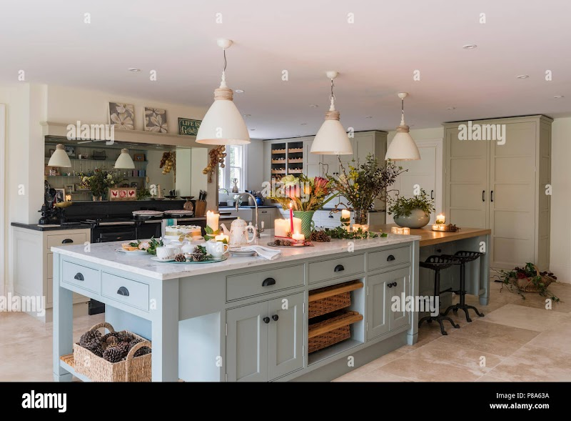 Awesome Farmhouse Kitchen Hanging Lights pictures