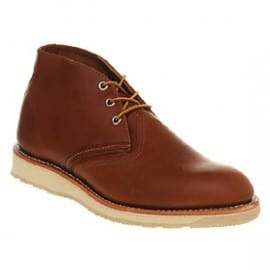 Redwingwork Chukka Boot Tan Leather