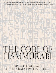 The Code of Hammurabi Book Cover