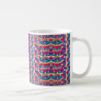 Crocheted Style on Coffee Mug