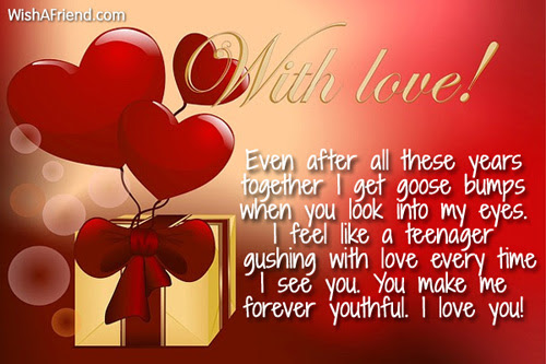 Even After All These Years Together Love Message