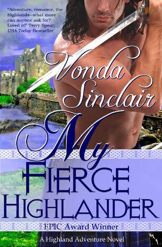 My Fierce Highlander (Highland  Adventure 1) by Vonda Sinclair