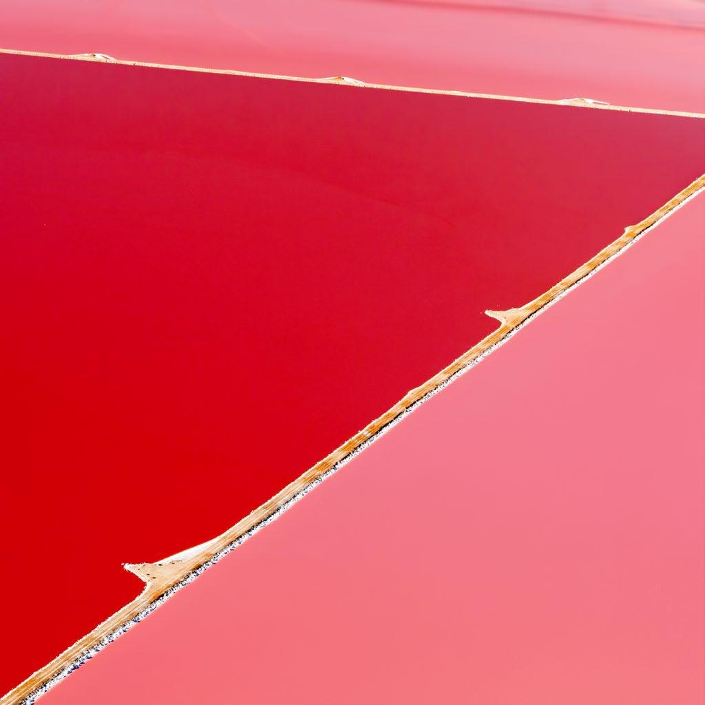 perierga.gr - Hutt Lagoon: Μια λίμνη στις αποχρώσεις του... κόκκινου!