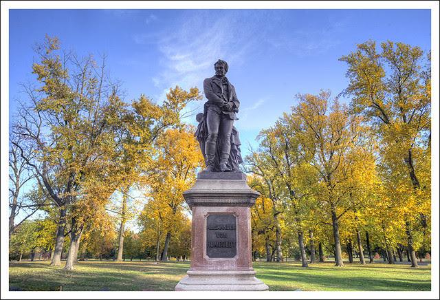 Alexander von Humboldt, Tower Grove Park