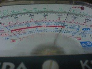 Gbr 3 Hasil pengukuran di Multitester