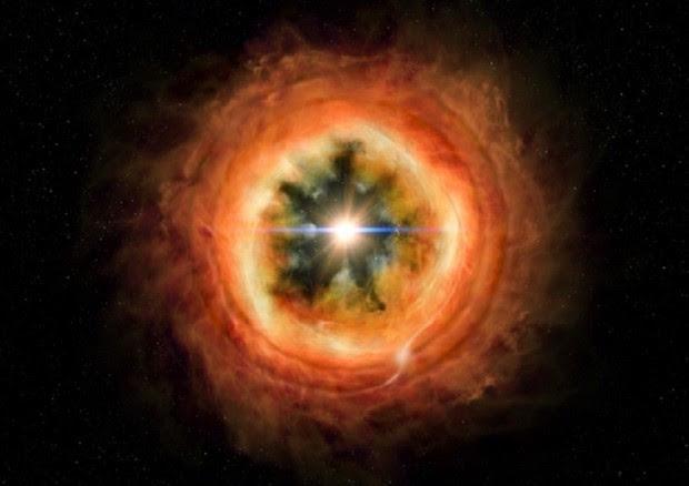 Ricostruita la storia delle nebulosa che ha dato origine al Sistema Solare (fonte: NASA/JHUAPL) © Ansa