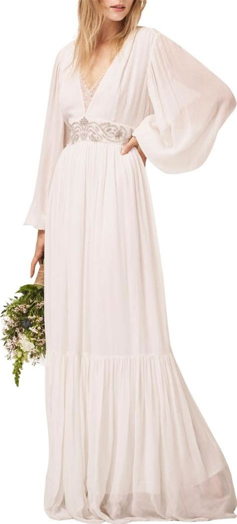 french connection Cari Maxi Bridal Dress   Obsessory