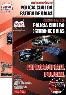 Apostila Polícia Civil de Goiás Papiloscopista Policial PCGO 2016.