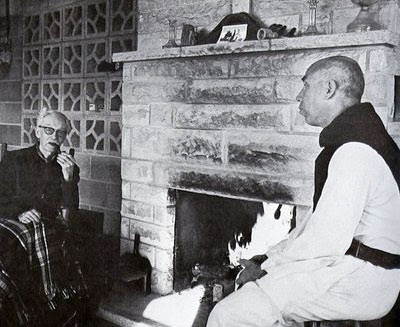 Jacques Maritain and progressivist monk Thomas Merton