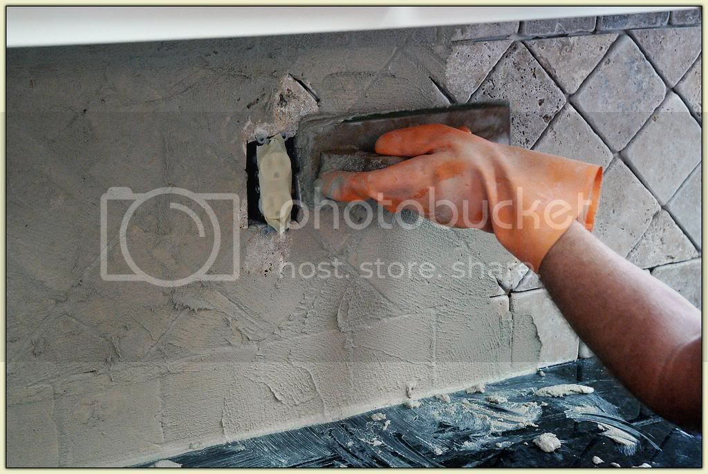 Applying the Grout