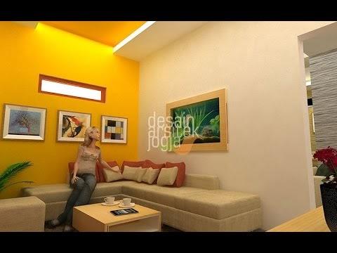 viral desain ruang tamu mungil sederhana, video ruang tamu