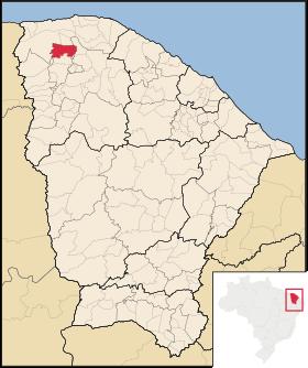 Localização de Uruoca