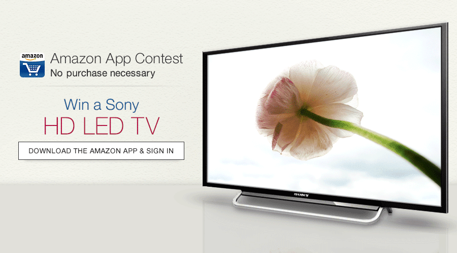 Win a Sony Bravia Full HD LED TV (40 inches)