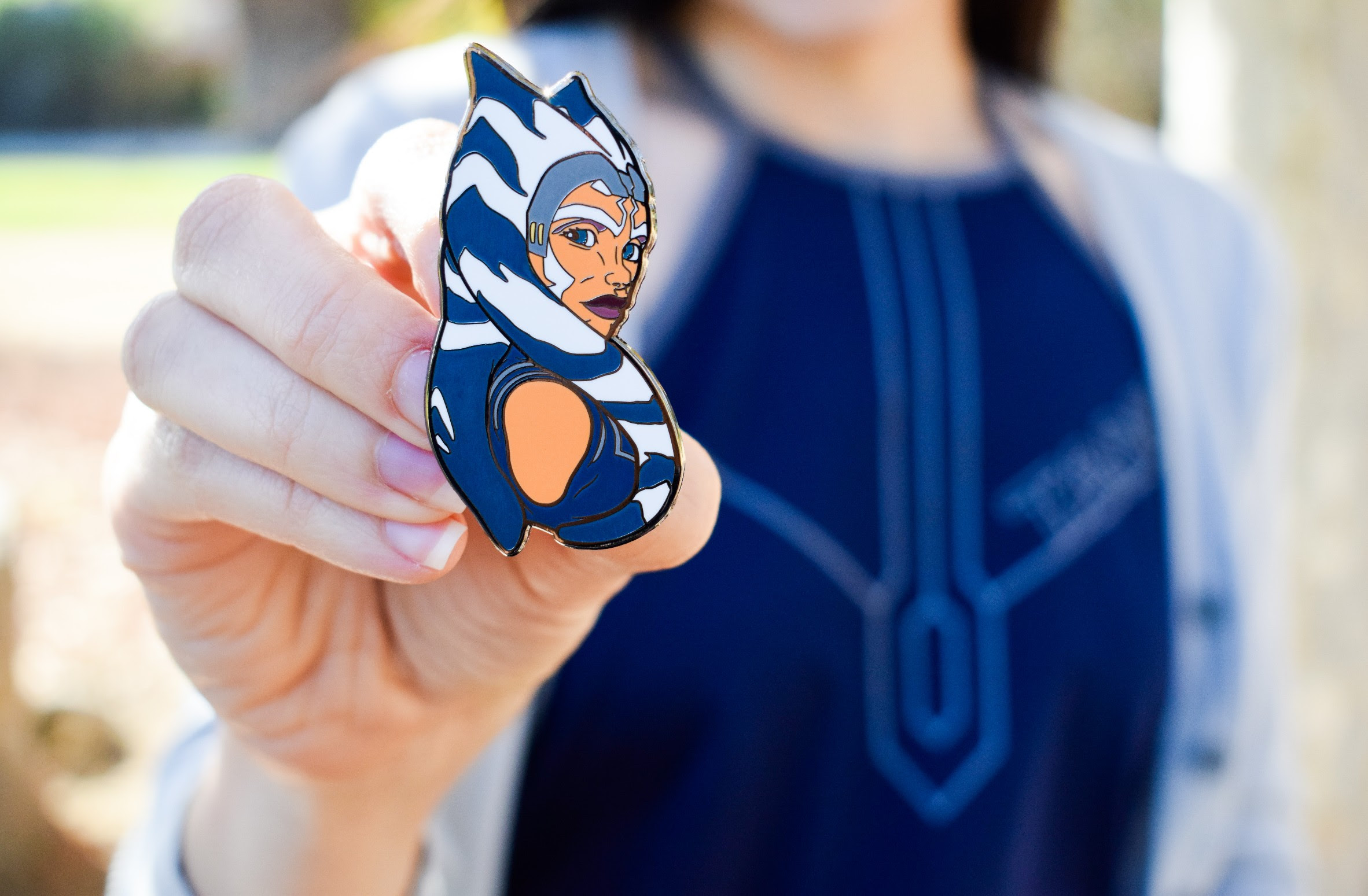 Ahsoka Tano Pin by Hyperspace Pins | Anakin and His Angel