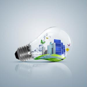 Switching to energy efficient lighting for LEED procurement
