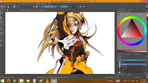 drawing anime krita jf studios