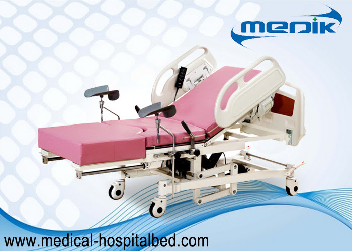 Remote Controller Medical Maternity Bed With Telescopic ...