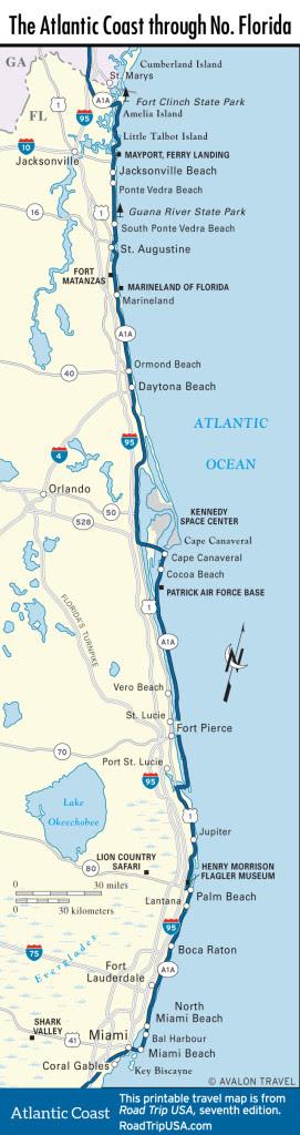 Atlantic Coast Florida Road Trip Road Trip Usa