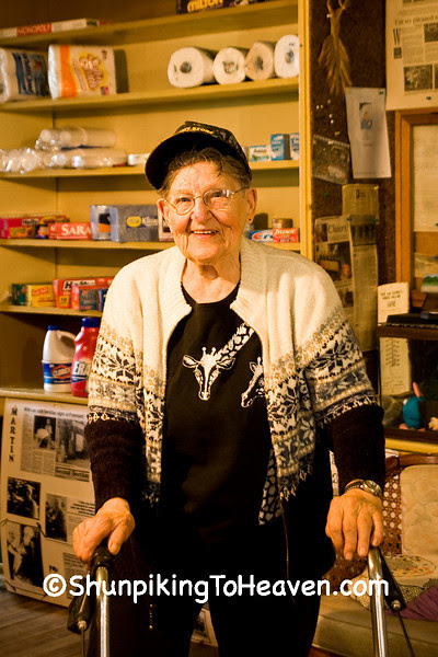 Owner of the Fremont General Store, Winona County, Minnesota