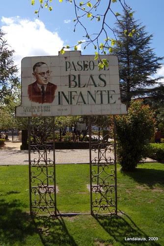 Paseo de Blas Infante