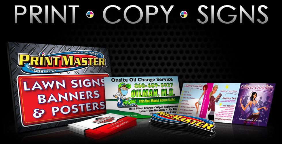 Print Master Torrington Ct Print Copy Signs