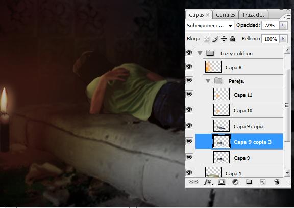 Crear un ambiente tétrico con photoshop 07