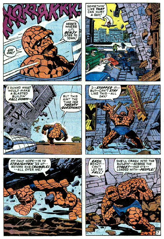 Fantastic Four #95 page by Jack Kirby