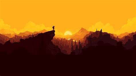 firewatch  retina ultra hd wallpaper background image